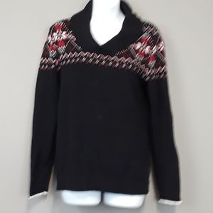 Studio Works Nordic sweater women's size small